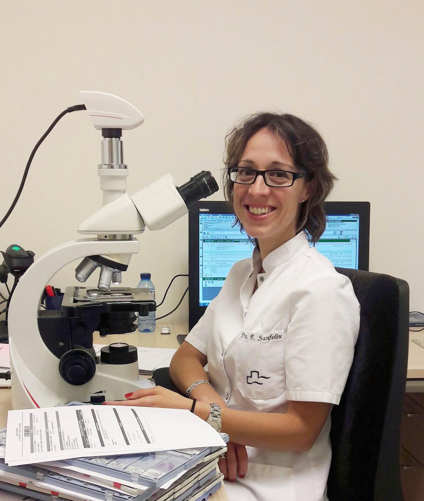 Dra. Esther Sanfeliu Torres - Anatomía patológica